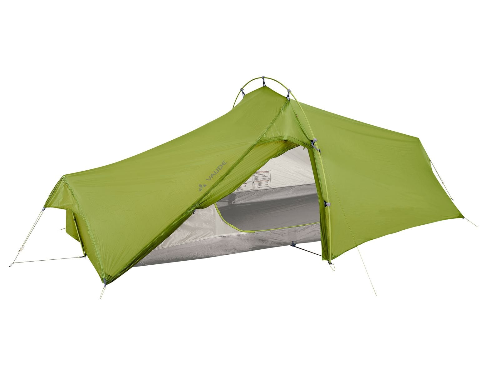 Vaude Power Lizard SUL 1-2P cress green för camping & uteliv.