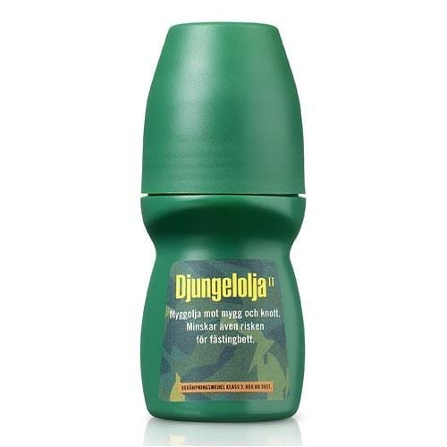 Djungelolja Roll-on 60 ml för camping & uteliv.