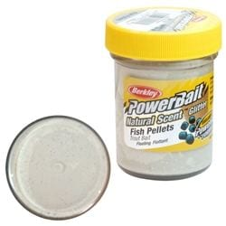 Berkley Powerbait Dough Natural Scent Fish Pellet 50g för camping & uteliv.