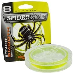 Spiderwire Stealth Smooth 150m Yellow för camping & uteliv.