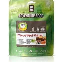 Adventure Food Mince Beef Hotpot enkelportion för camping & uteliv.