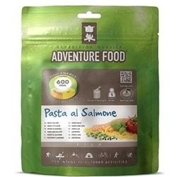 Adventure Food Pasta Pesto med Lax enkelportion för camping & uteliv.