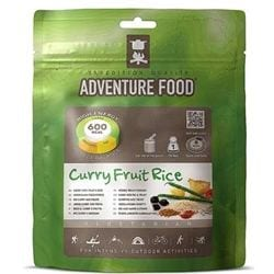 Adventure Food Curry Fruit Rice enkelportion för camping & uteliv.
