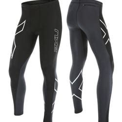 2XU G2 Wind Defence Compression Tights M för camping & uteliv.